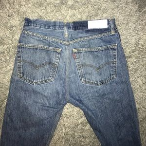 Re/Done x Levi's straight skinny jeans